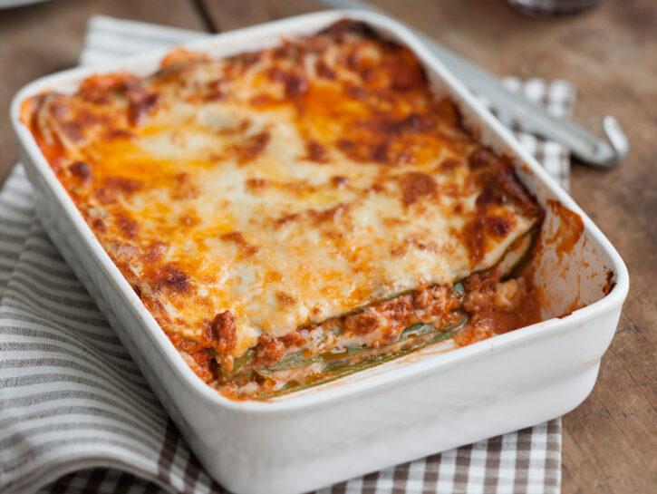 Lasagne alla bolognese classiche