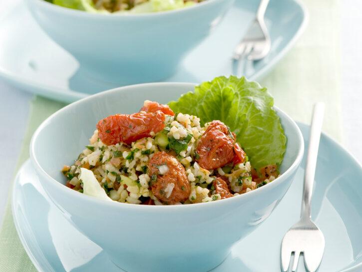 Tabbouleh o insalata di grano bulgur