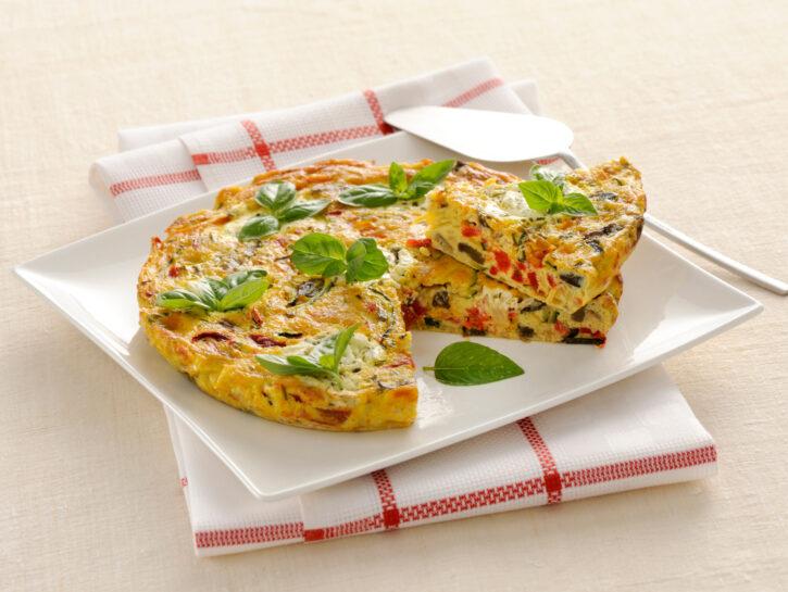Frittata al forno con verdure estive