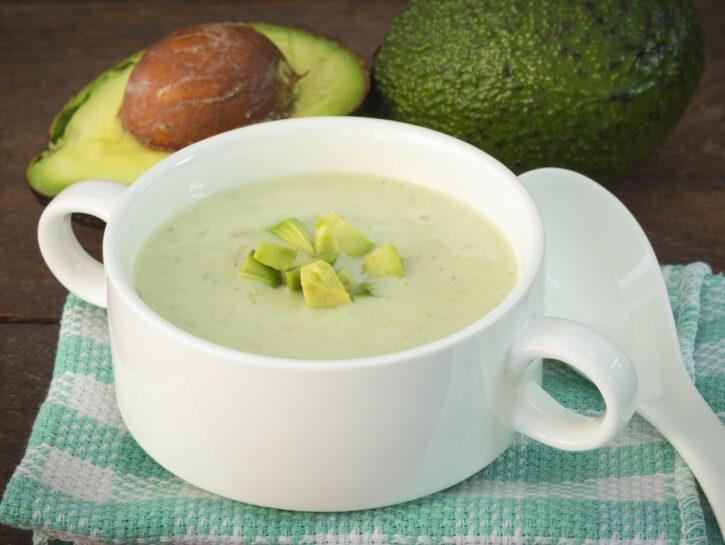 Zuppa fredda di vocado