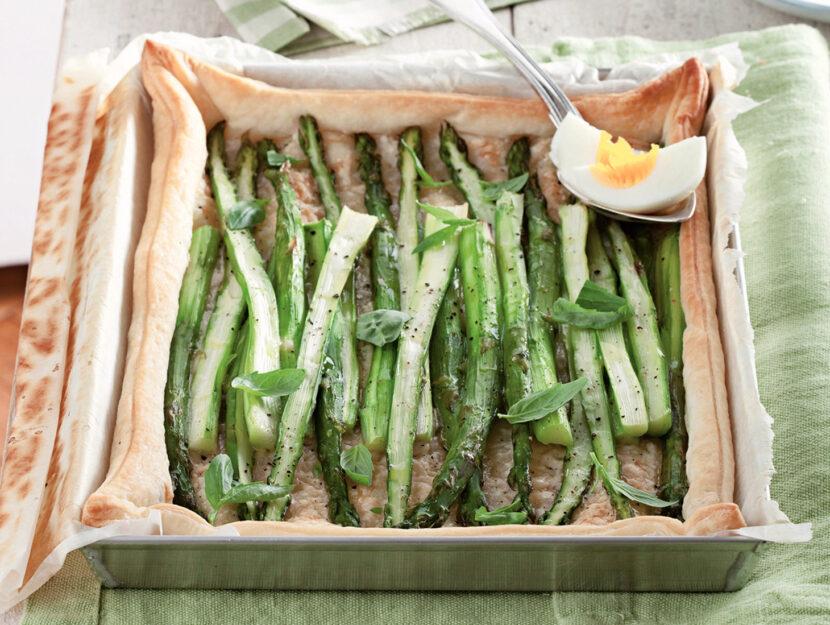 Focaccia agli asparagi