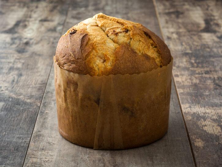 Panettone di pan brioche