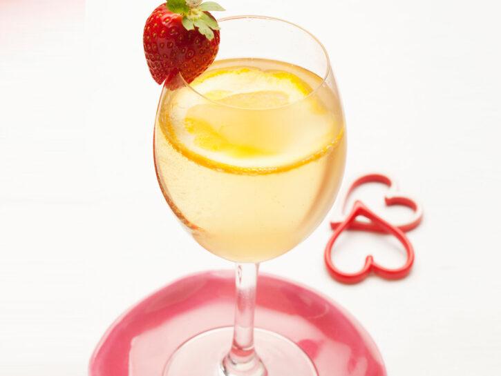 Cocktail allo champagne