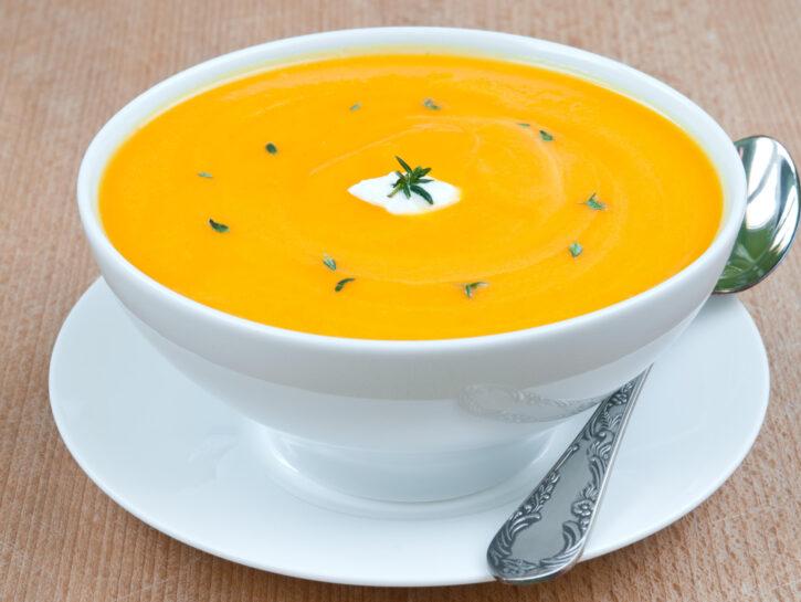 Passato di carote al curry - Credits: Olycom