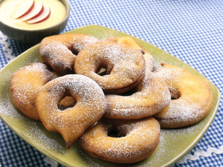 frittelle-di-mele-alla-vaniglia ricetta