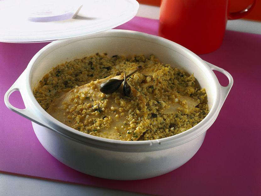 sedano-rapa-con-salsa-di-uova-sode foto