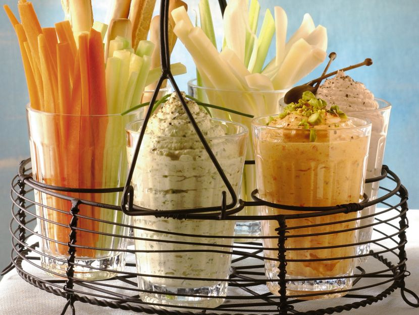 tris-di-mousse-verdure-e-formaggio