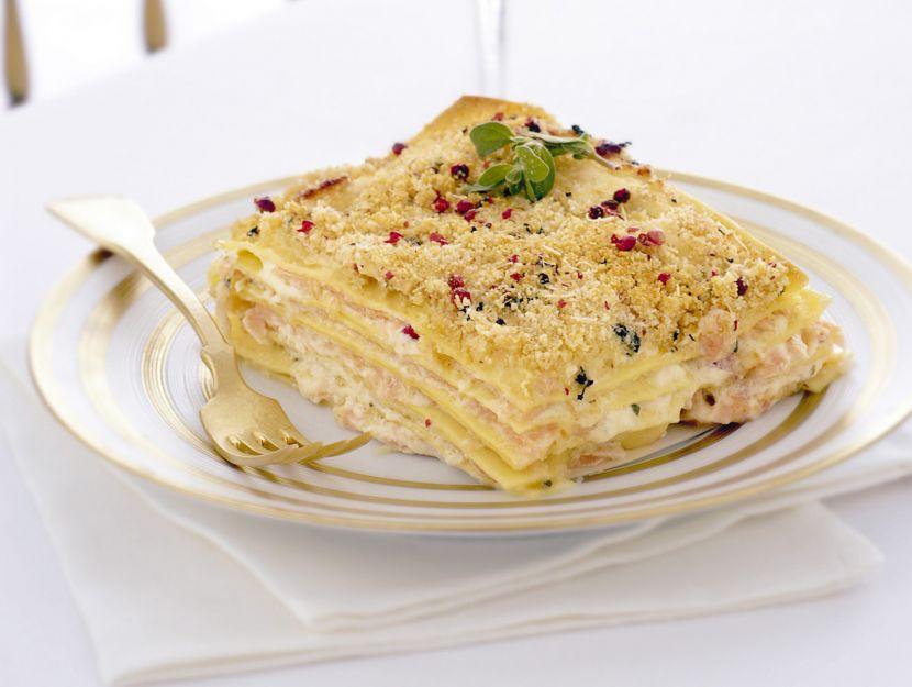 lasagne-con-carpaccio-di-salmone-e-robiola immagine