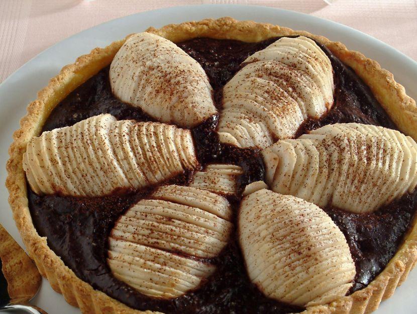 crostata-farcita-con-pere-e-cioccolato-fondente-alla-cannella step