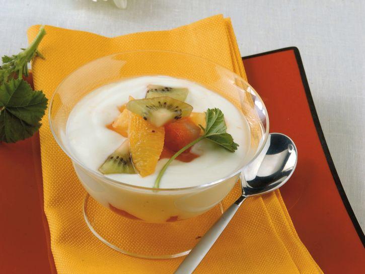 crema-di-yogurt-e-frutta ricetta