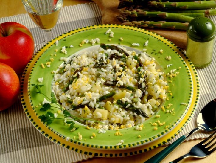risotto-mimosa-agli-asparagi ricetta