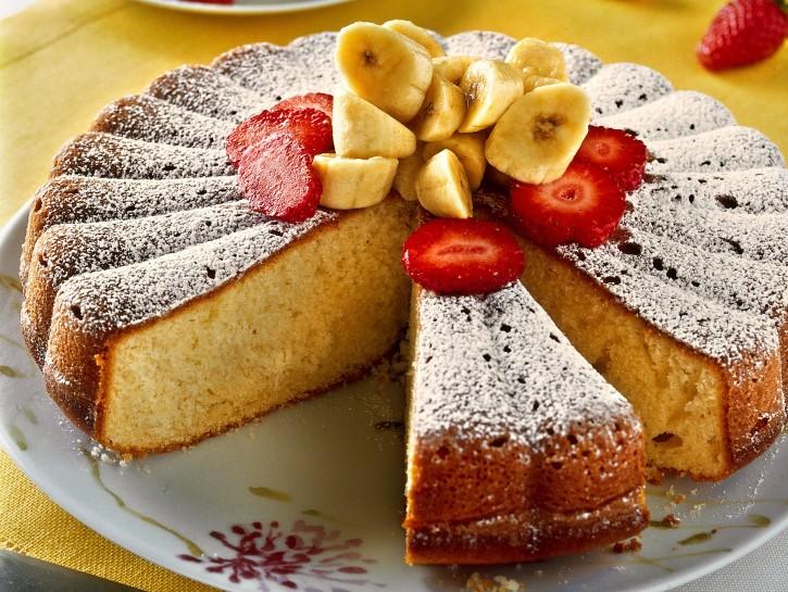 Ricetta Torta Banana.Ricetta Torta Alla Banana Donna Moderna