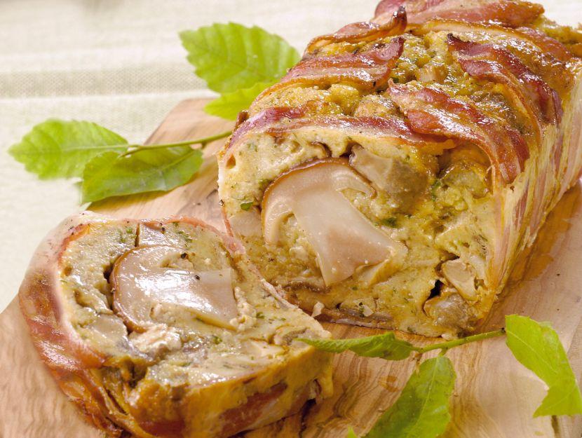 ricetta terrina-di-porcini-e-pancetta