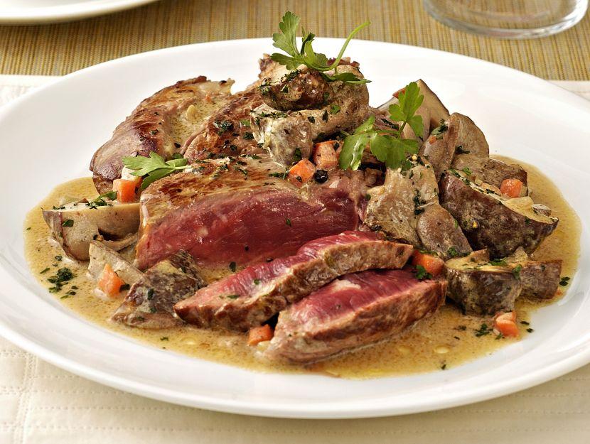tagliata-di-manzo-ai-porcini ricetta