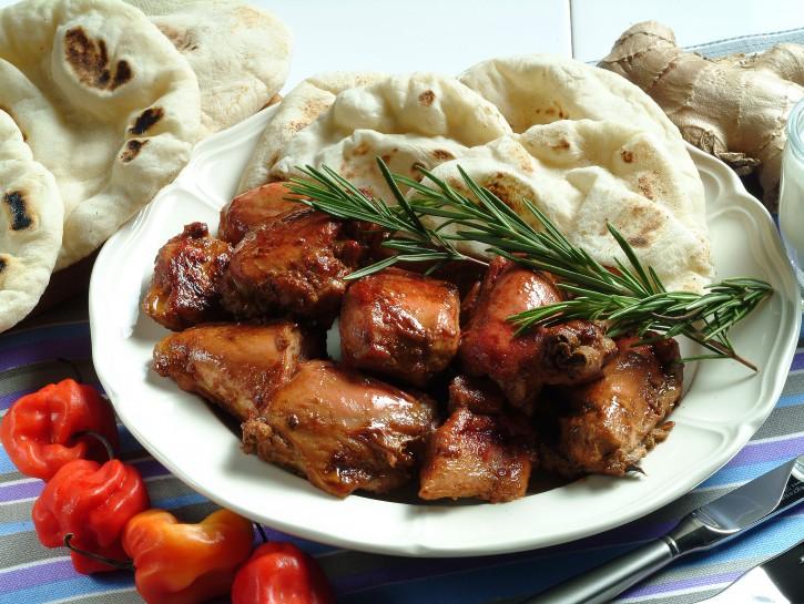 chapati-con-pollo-tandoori preparazione