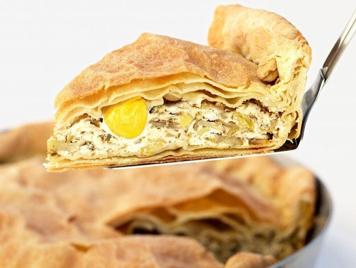 ricetta torta-pasqualina-con-i-carciofi