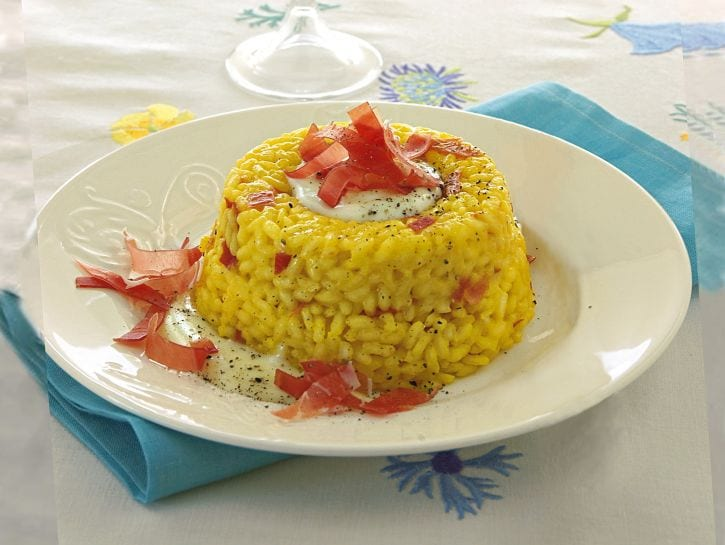 timballini-di-riso-con-fonduta ricetta