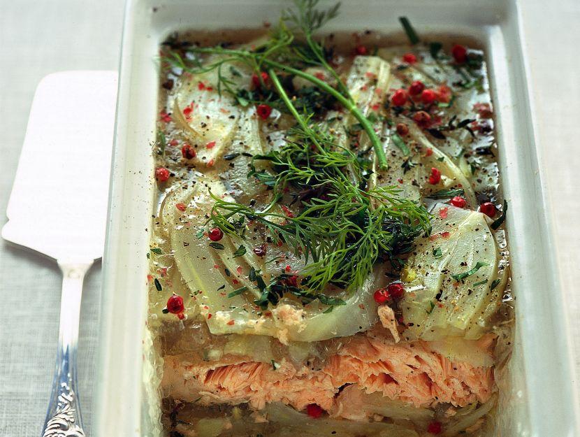 terrina-di-salmone-e-finocchi ricetta