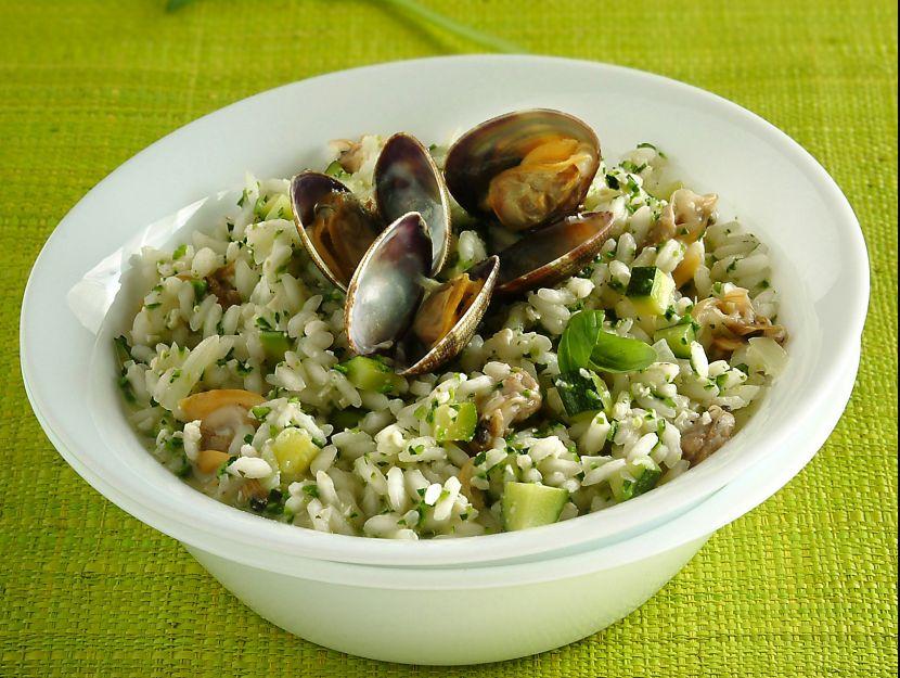 risotto-con-vongole-e-zucchine