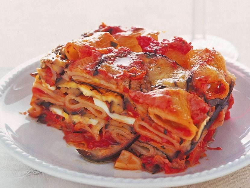 parmigiana-di-pasta-e-melanzane-grigliate ricetta