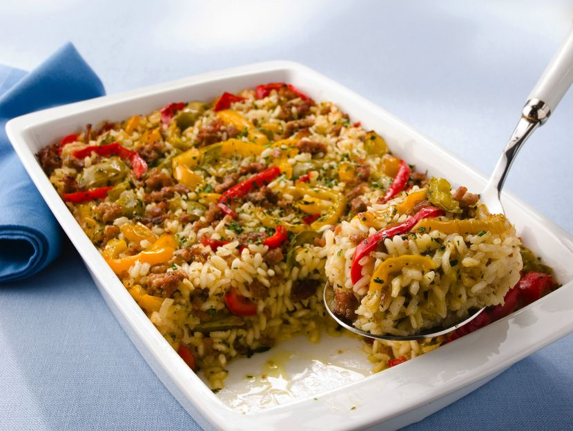 teglia-salsiccia-e-peperoni