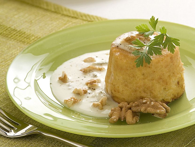 sformatini-di-sedano-rapa-con-salsa-al-gorgonzola preparazione