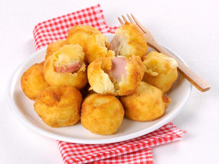 Crocchette di patate con sorpresa