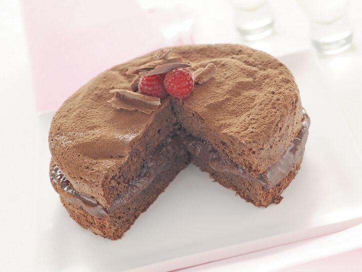 Torta soffice al cioccolato e Nutella ®