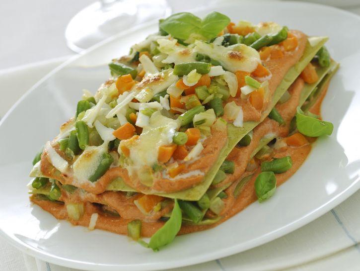 lasagne-verdi-con-verdure-e-ricotta immagine
