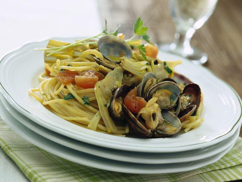 pasta-con-carciofi-e-vongole ricetta
