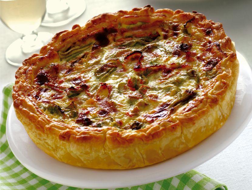 torta-con-emmentaler-e-fiori-di-zucca ricetta
