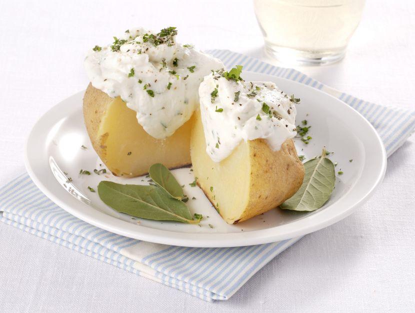 patate-al-cartoccio-con-crema-al-gorgonzola foto