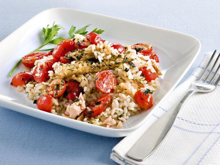 pilaf-con-tonno-e-pomodorini ricetta