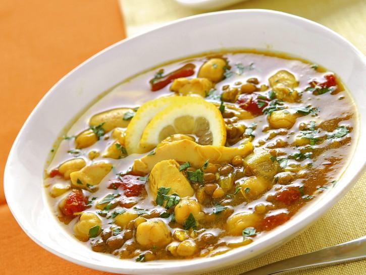 harira-con-pollo-lenticchie-e-ceci immagine