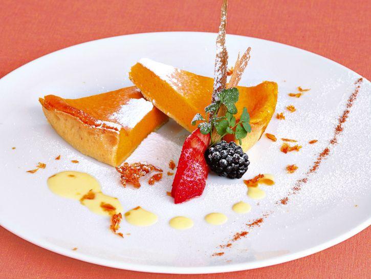 torta-di-zucca-alle-mandorle immagine