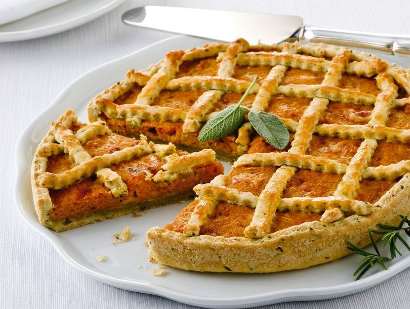 ricetta crostata-salata-di-zucca
