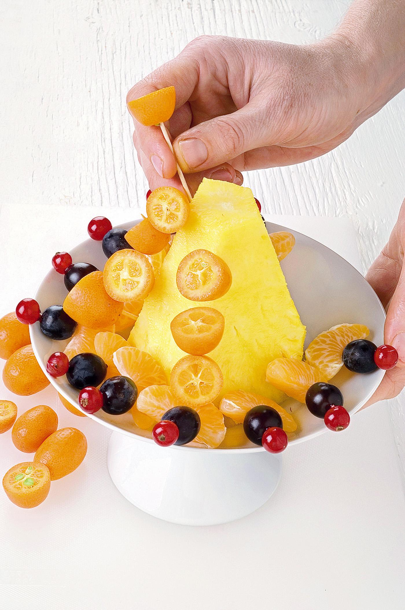 Ricetta Alzatina di frutta - Donna Moderna