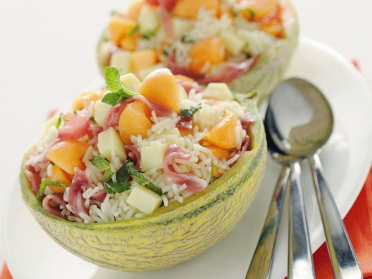 insalata-di-riso-nel-melone immagine