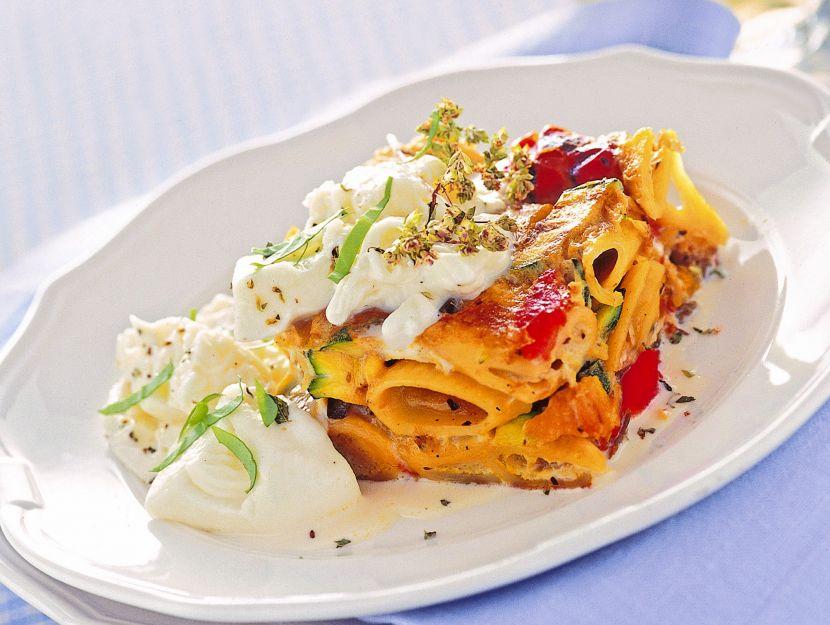 pasta-con-verdure-grigliate-e-burrata