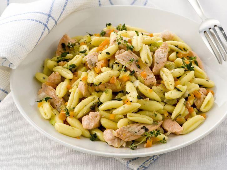 cavatelli-con-trota-salmonata ricetta