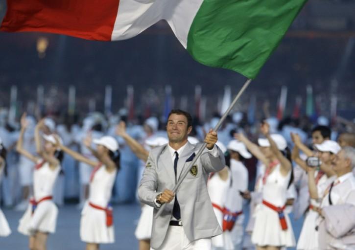 La cerimonia d'apertura delle olimpiadi 2008