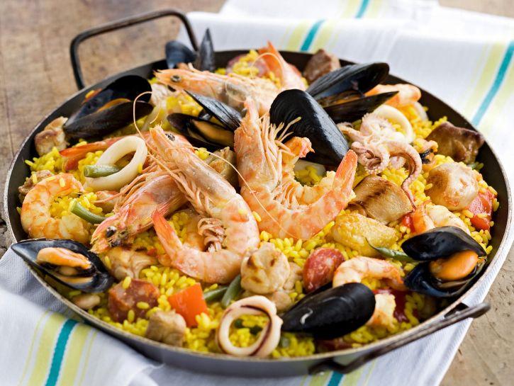 ricetta paella-piccante-alla-valenciana