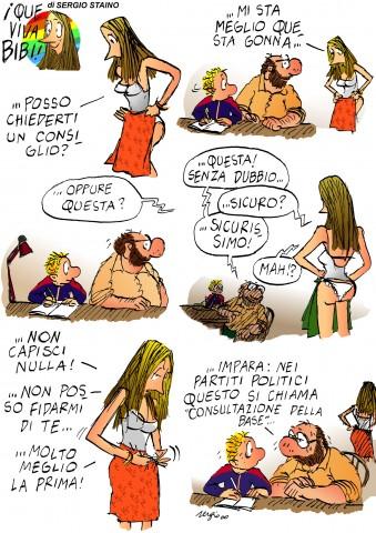Staino, Bobo, Ilaria e le donne