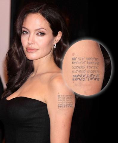 Angelina Jolie ha un nuovo tatuaggio