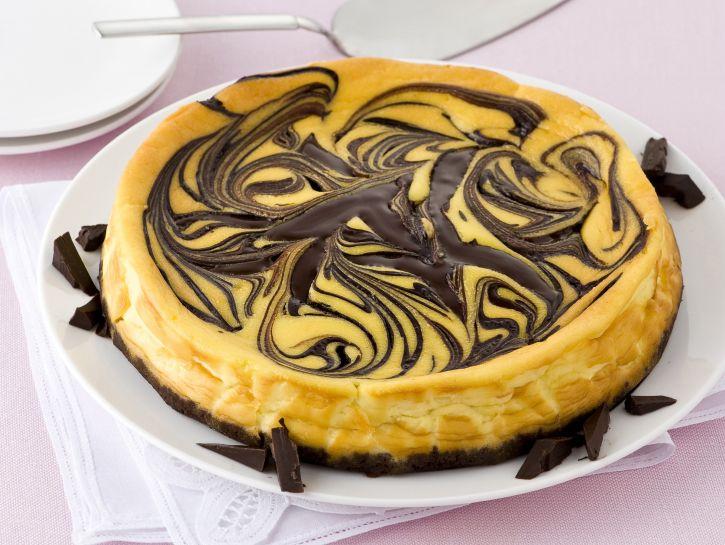 cheesecake-marmorizzato foto