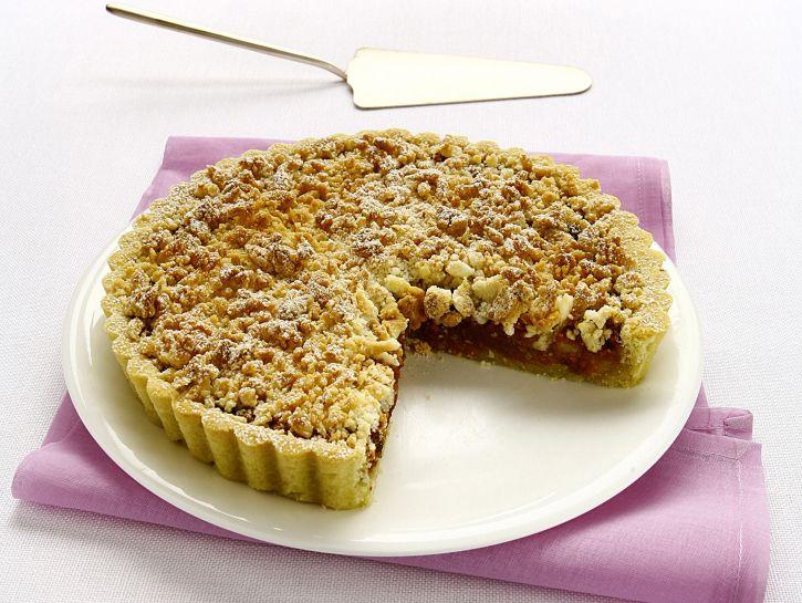 crostata-di-pere-e-amaretti preparazione