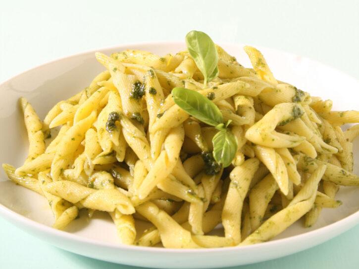 Pasta al basilico semplicissima