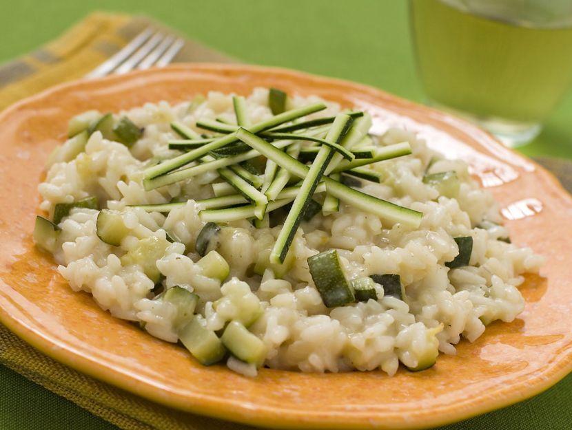 risotto-alle-zucchine-e-taleggio preparazione