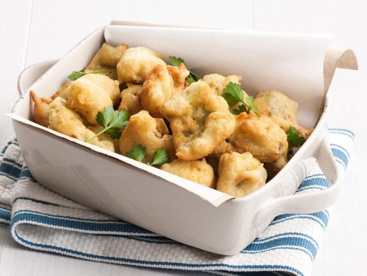 Frittini croccanti al curry
