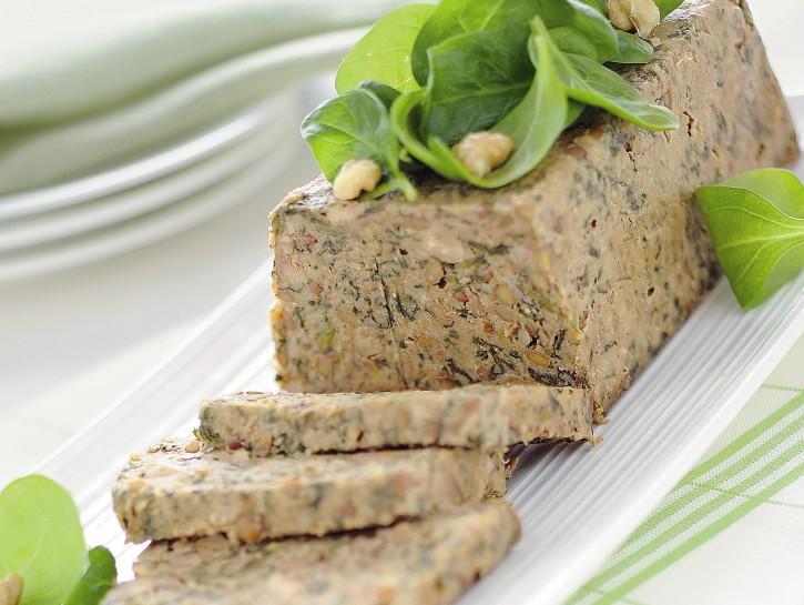 polpettone-di-lenticchie-e-spinaci immagine